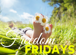 Complimentary Lunch & Meditation ~ Freedom Fridays!