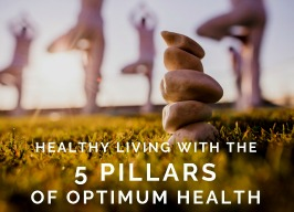 Healthy Living with the 5 Pillars of Optimal Health ~ with Evita Ochel 7pm