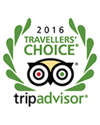 Tripadvisor 2016 Traveler's Choice Award