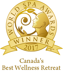 Winner Canada's Best Wellness Retreat 2017 - World Spa Awards