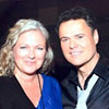 Madeleine and Donny Osmond