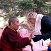 Sonam Rinpoche Blesses Grail Springs October 2012