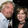 Madeleine and Sir Richard Branson