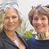 Madeleine and Lynne Twist, founder of Pachamama Alliance