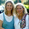 Madeleine and Lindsay Wagner at Grail Springs: Open Heart Open Mind Retreat 2011