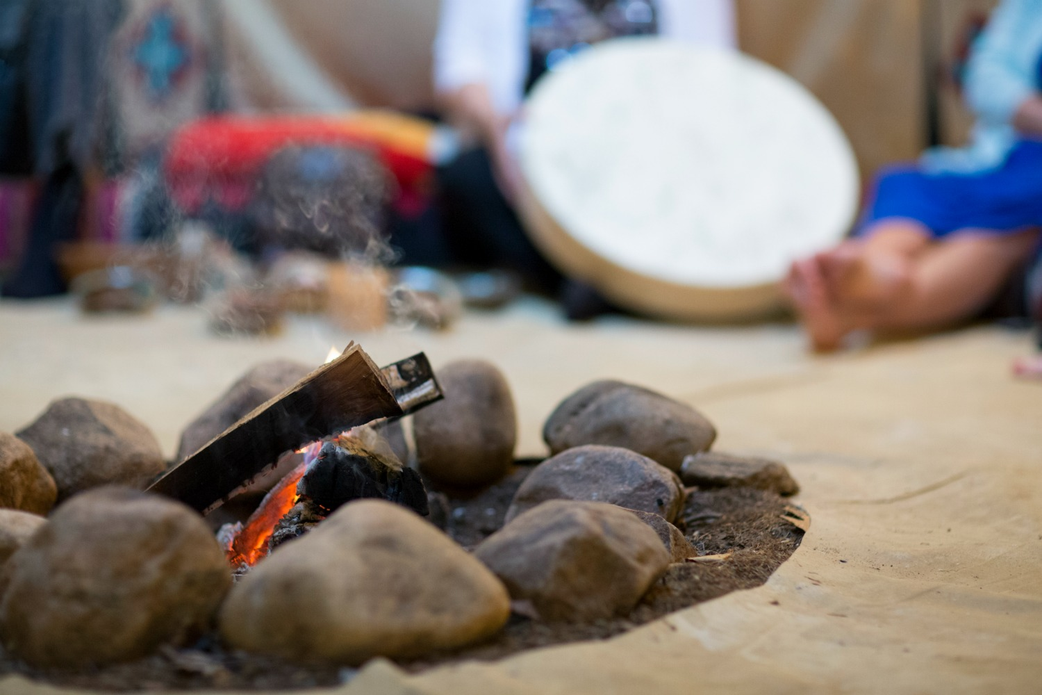 Drum Journeys in Thunder Wolf Teepee