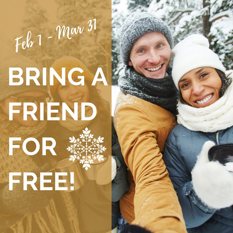 Bring a Friend For Free & Celebrate 25 Years!