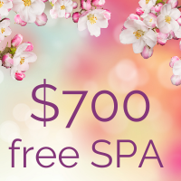 Free $700 Spa Package